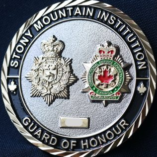 Correctional Service Canada Stony Mountain Institution Guard of Honour