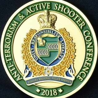 Niagara Regional Police Service Anti-Terrorism and Active Shooter Conference 2018