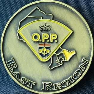 Ontario Provincial Police OPP East Region