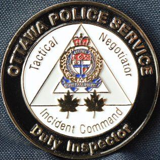 Ottawa Police Service Duty Inspector