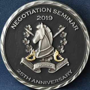 RCMP and CPS Negotiation Seminar 2019 25th Anniversary