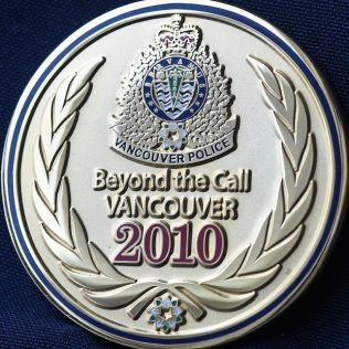 Vancouver Police Department Beyond the Call Vancouver 2010