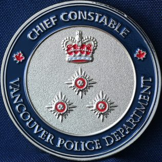 Vancouver Police Department Chief Constable