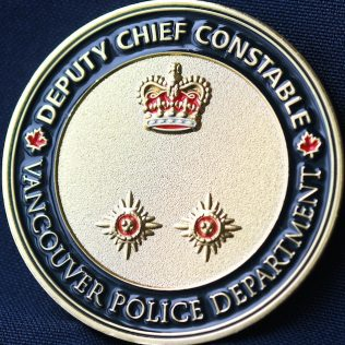 Vancouver Police Department Deputy Chief Constable