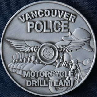 Vancouver Police Department Motorcycle Drill Team