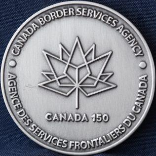 Canada Border Services Agency CBSA Canada 150
