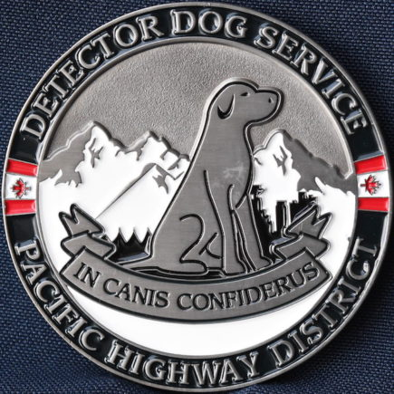 Canada Border Services Agency CBSA Detector Dog Service Pacific Highway District