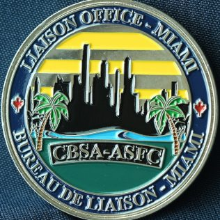 Canada Border Services Agency CBSA Liaison Office Miami New