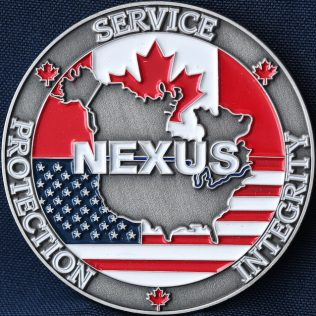 Canada Border Services Agency CBSA - NEXUS colour