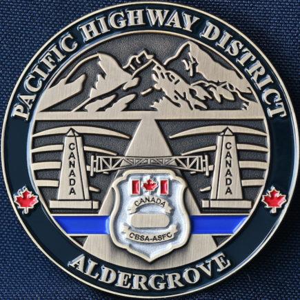Canada Border Services Agency CBSA Pacific Highway District Aldergrove Dark