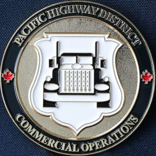 Canada Border Services Agency CBSA - Pacific Highway District Commercial Operations White