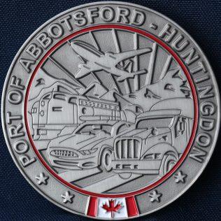 Canada Border Services Agency CBSA Port of Abbotsford-Huntington Gold