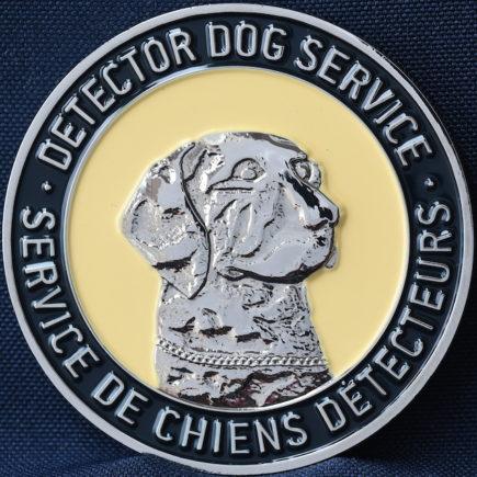 Canada Border Services Agency CBSA SOR Region Detector Dog Service