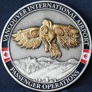 Canada Border Services Agency CBSA Vancouver International Airport Passenger Operations Gold