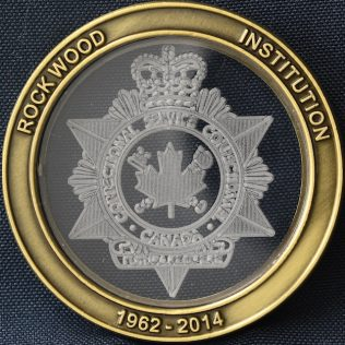 Correctional Service Canada Rockwood Institution 1962-2014