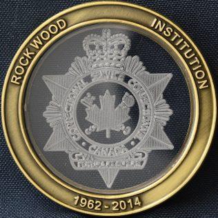 Correctional Service Canada Rockwood Institution 1962-2014