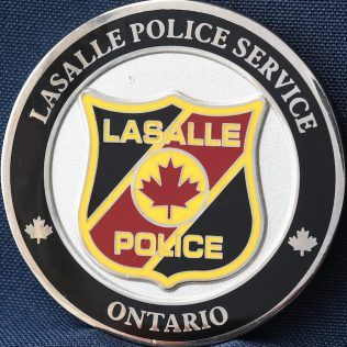 Lasalle Police Service Chief Citizen Award