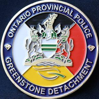Ontario Provincial Police OPP Greenstone Detachment