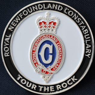 Royal Newfoundland Constabulary Tour the Rock 2018