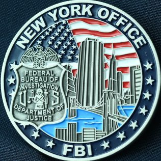 US Federal Bureau of Investigation New York Office