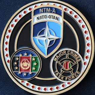 Afghanistan Police NATO NTM-A