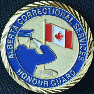 Alberta Correctional Services Honour Guard