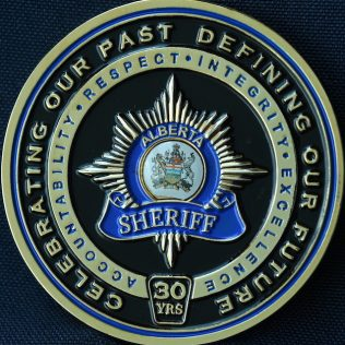 Alberta Sheriff 30th Anniversary