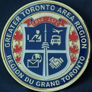 Canada Border Services Agency CBSA - Greater Toronto Area Region