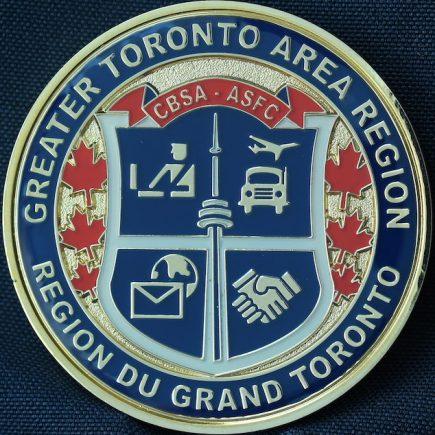 Canada Border Services Agency CBSA - Greater Toronto Area Region