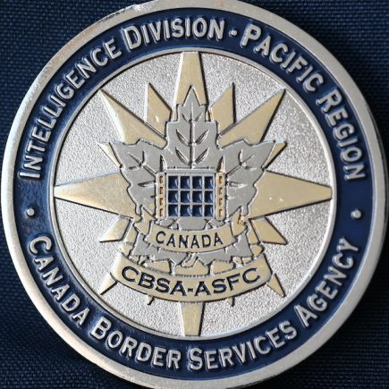 Canada Border Services Agency CBSA - Pacific Region Intelligence Division