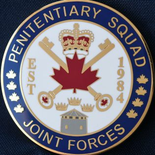 Correctional Service Canada Penitentiary Squad Joint Forces