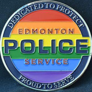 Edmonton Police Service EPS -Diversity Pride