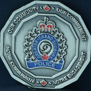 Greater Grand Sudbury Police Service Great Lakes Motorcycle 2019