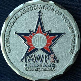 International association of Women Police Calgary 2018.JPG
