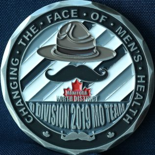 RCMP D Division - North District 2019 Movember Team