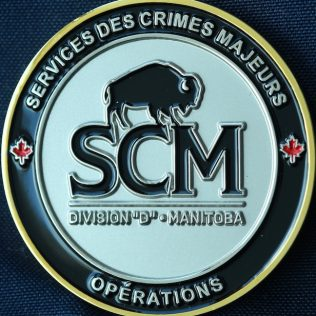 RCMP D Division Services des Crimes Majeurs Operations