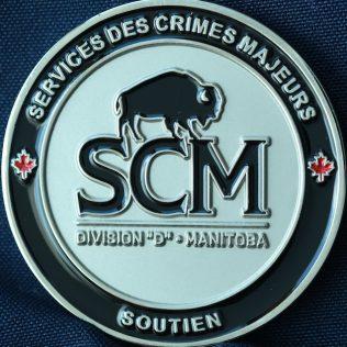 RCMP D Division Services des Crimes Majeurs Soutien