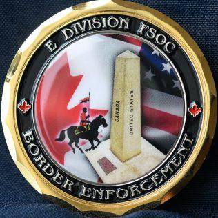 RCMP E Division FSOC Border Enforcement