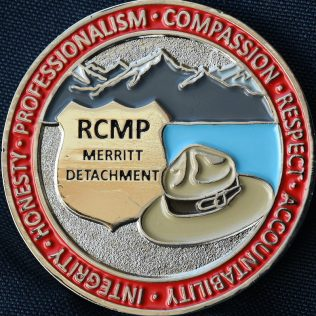 RCMP E Division Merritt Detachment