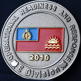 RCMP E Division Operational Readiness and Response 2010