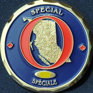 RCMP E Division Special O