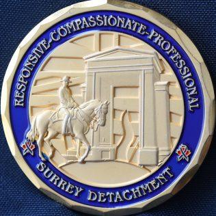 RCMP E Division Surrey Detachment OIC