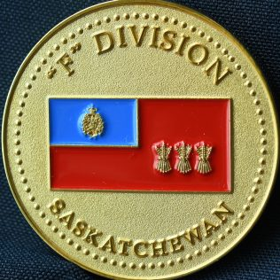RCMP F Division Commanding Officer's Medallion