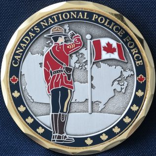 RCMP Generic Canada National Police Force