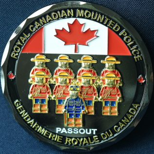 RCMP Generic LEGO Passout Black