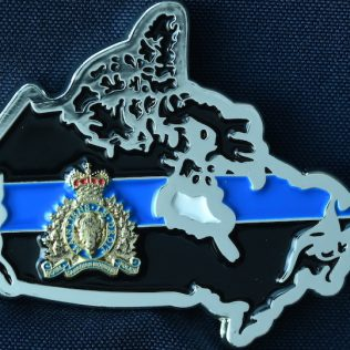 RCMP Generic Thin Blue Line Hero