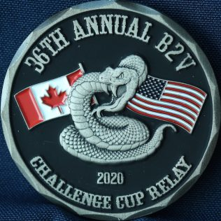 RCMP K Division - Challenge Cup Relay 2020