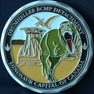 RCMP K Division Drumheller Detachment 2020
