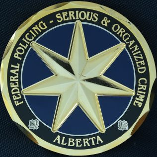 RCMP K Division Federal Policing Serious and Organized Crime FSOC Gold