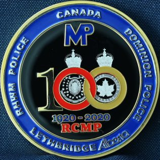 RCMP K Division Lethbridge Veterans 1920-2020